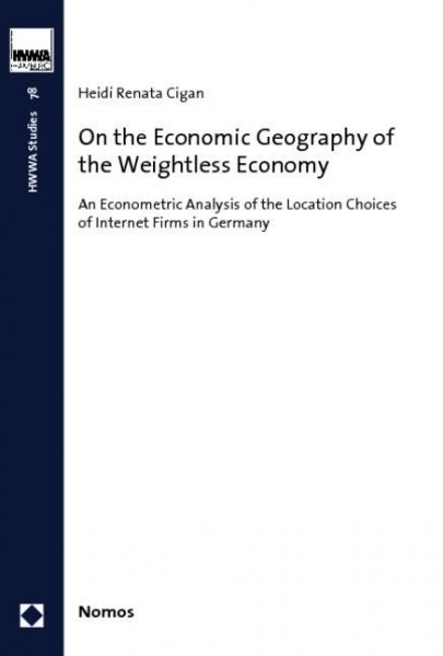 On the Economic Geography of the Weightless Economy