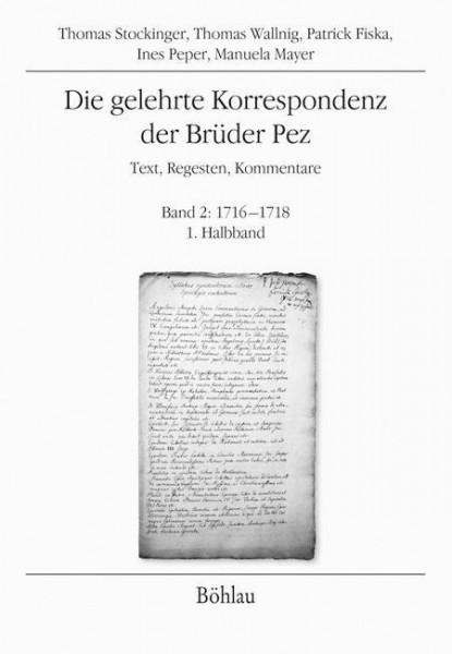 Die gelehrte Korrespondenz der Brüder Pez