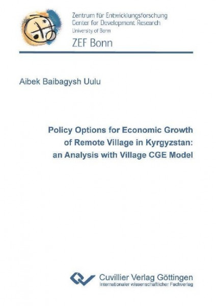 Policy Options for Economic Growth of Remote Village in Kyrgyzstan: an Analysis with Village CGE Mod