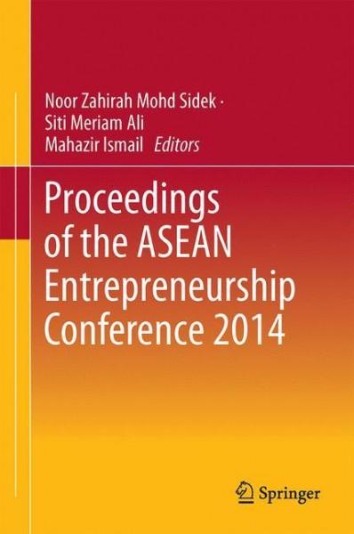 Proceedings of the ASEAN Entrepreneurship Conference 2014