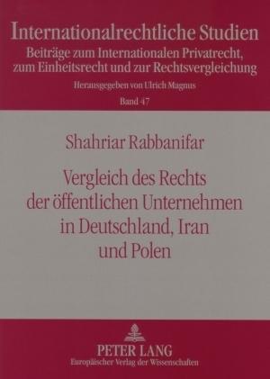 Vergleich des Rechts der öffentlichen Unternehmen in Deutschland, Iran und Polen