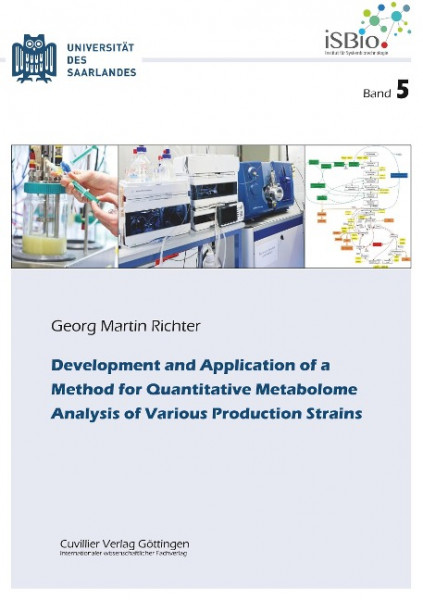 Development and Application of a Method for Quantitative Metabolome Analysis of Various Produc-tion