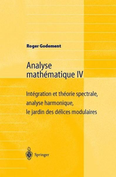Analyse mathématique IV