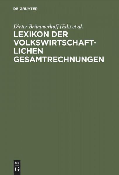 Lexikon der Volkswirtschaftlichen Gesamtrechnungen