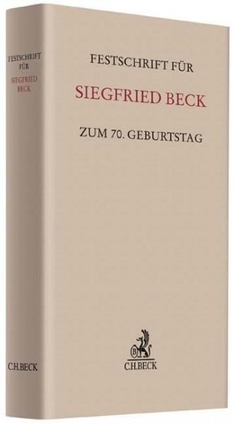 Festschrift für Siegfried Beck zum 70. Geburtstag