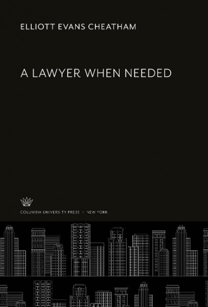 A Lawyer When Needed