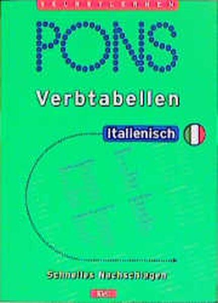 PONS Verbtabellen, Italienisch