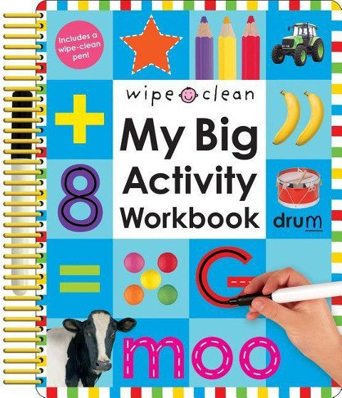 Wipe Clean: My Big Activity Workbook [With 2 Wipe-Clean Pens]