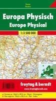 FuB Europa physisch 1 : 3 500 000 Planokarte