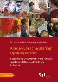 Kinder-Sprache stärken! - Ergänzungsmaterial