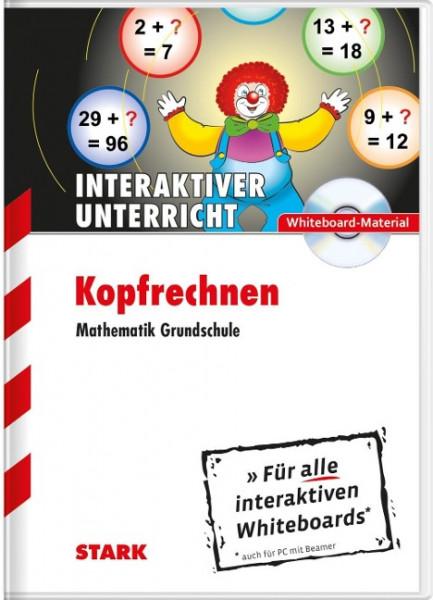 Kopfrechnen - Mathematik Grundschule CD-ROM Whiteboard-Anwendung