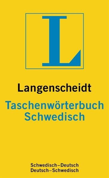 Langenscheidt Taschenwörterbuch Schwedisch: Schwedisch-Deutsch/Deutsch-Schwedisch (Langenscheidt Tas