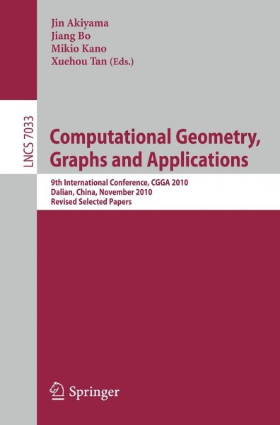 Computational Geometry, Graphs and Applications