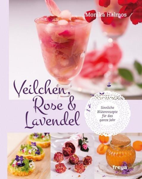 Veilchen, Rose und Lavendel