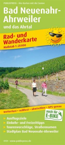 Bad Neuenahr-Ahrweiler und das Ahrtal 1:25 000