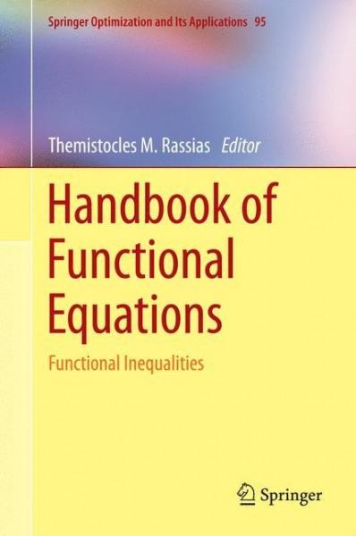 Handbook of Functional Equations