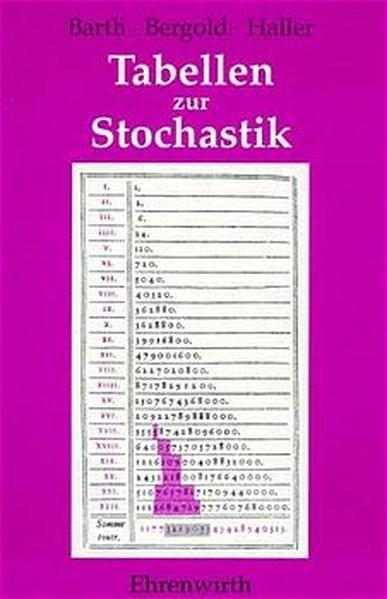 Stochastik / Tabellen zur Stochastik