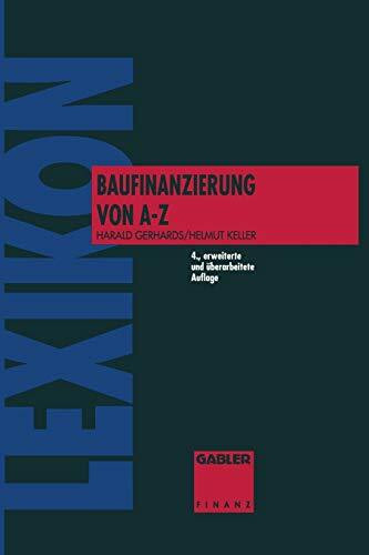 Lexikon Baufinanzierung von A - Z