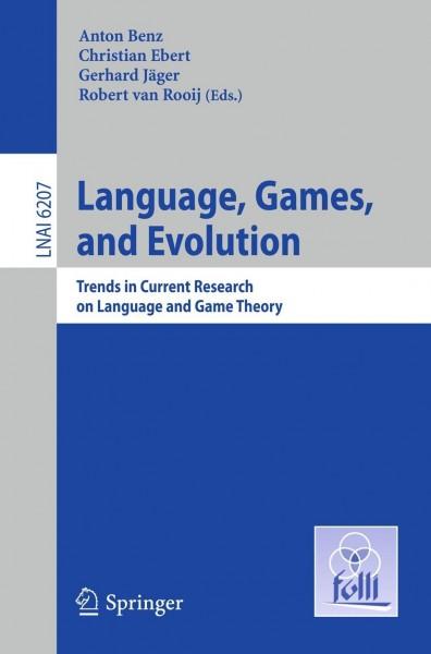 Language, Games, and Evolution