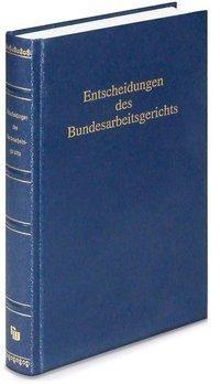 Entscheidungen des Bundesarbeitsgerichts (BAGE) 164