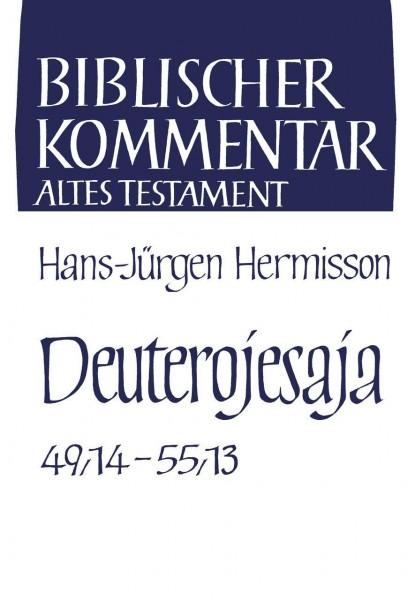 Deuterojesaja (Jes 49,14-55,13)