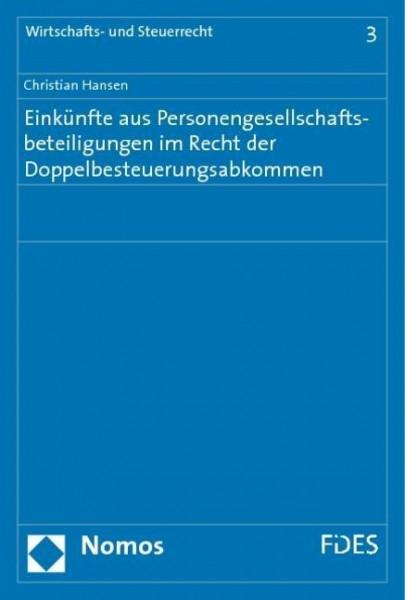 Einkünfte aus Personengesellschaftsbeteiligungen im Recht der Doppelbesteuerungsabkommen