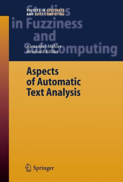 Aspects of Automatic Text Analysis