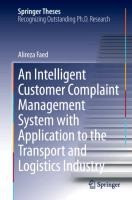An Intelligent Customer Complaint Management System with Application to the Transport and Logistics