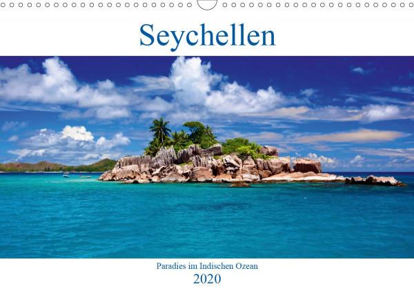 Seychellen - Paradies im Indischen Ozean (Wandkalender 2020 DIN A3 quer)