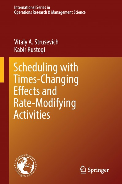 Scheduling with Time-Changing Effects and Rate-Modifying Activities