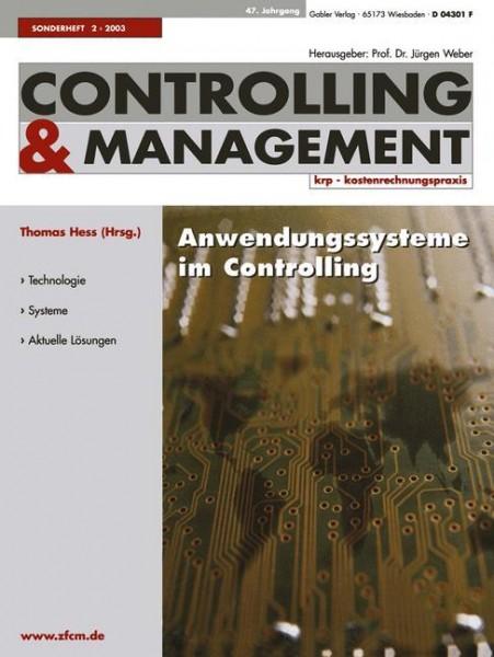 Anwendungssysteme im Controlling
