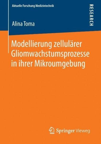 Modellierung zellulärer Gliomwachstumsprozesse in ihrer Mikroumgebung