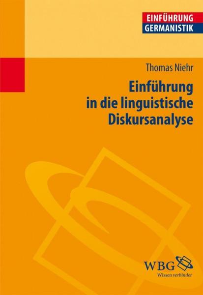 Einführung in die linguistische Diskursanalyse