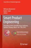 Smart Product Engineering