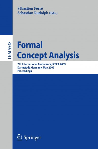 Formal Concept Analysis
