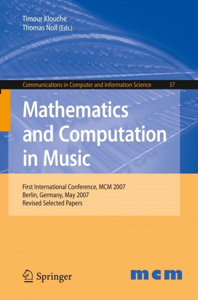 Mathematics and Computation in Music