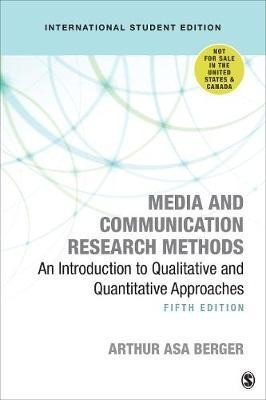 Media and Communication Research Methods - International Student Edition