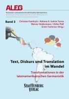 Text, Diskurs und Translation im Wandel