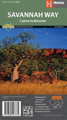 Cairns to Broome 1 : 2 200 000