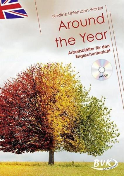 Around the Year - Arbeitsblätter für den Englischunterricht (inkl. CD)
