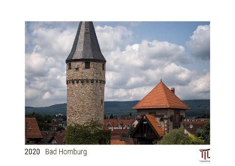 Bad Homburg 2020 - White Edition - Timokrates Kalender, Wandkalender, Bildkalender - DIN A4 (ca. 30