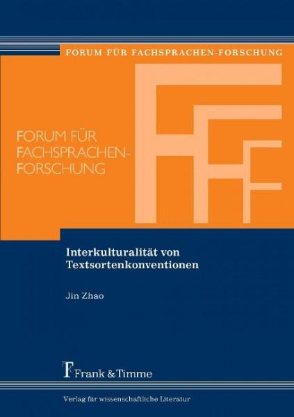 Interkulturalität von Textsortenkonventionen