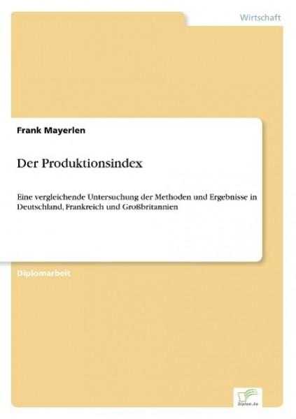 Der Produktionsindex