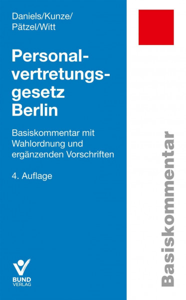 Personalvertretungsgesetz Berlin