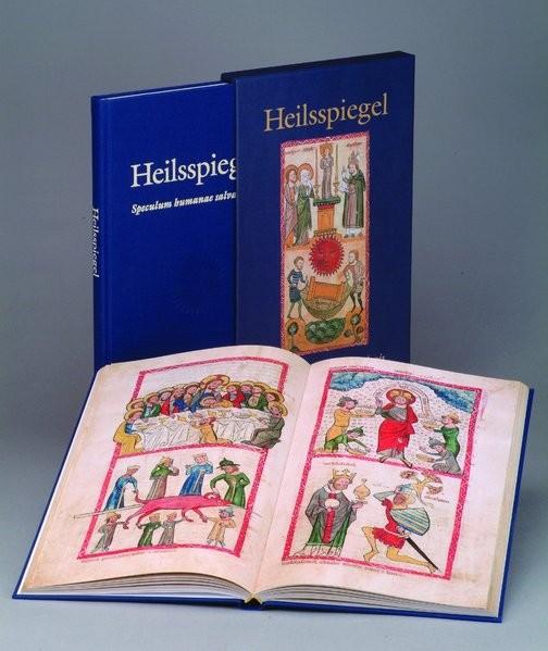 Heilsspiegel. Speculum humanae salvationis. Handschrift 2505 der Universitäts- und Landesbibliothek