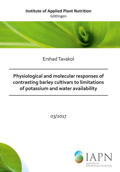 Physiological and molecular responses of contrasting barley cultivars to limitations of potassium and water availability