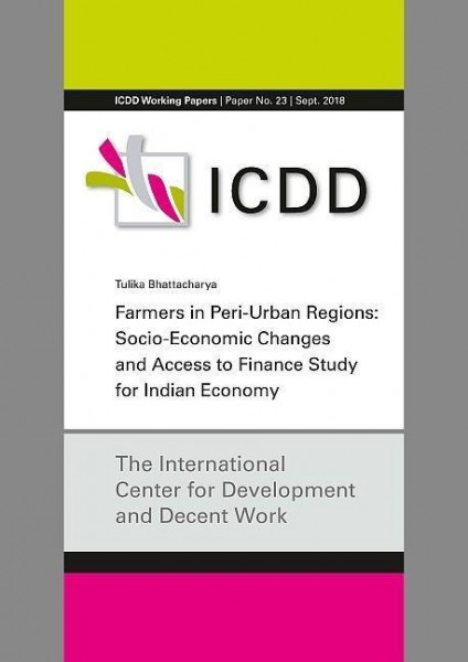Farmers in Peri-Urban Regions: Socio- Economic Changes and Access to Finance Study for Indian Econom