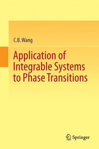 Application of Integrable Systems to Phase Transitions