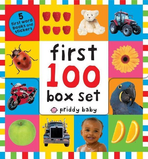 First 100 PB Box Set (5 Books): First 100 Words; First 100 Animals; First 100 Trucks and Things That