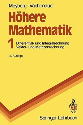 Höhere Mathematik I